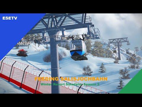 Feeding the Salisjochbahn, Winter Resort Simulator Season 2 gameplay |