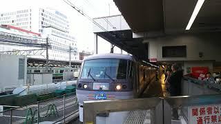 西武池袋線 特急むさし29号 飯能行き 10000系(ラブライブサンシャインラッピング列車) 2018.05.25
