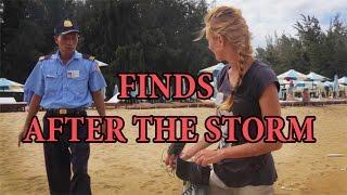 Находки после шторма и встреча с Security. Treasure Hunters / Кладоискатели