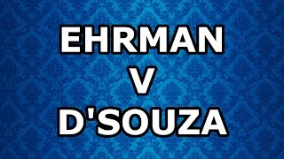 The Best Bits of Ehrman v D'Souza: part 1