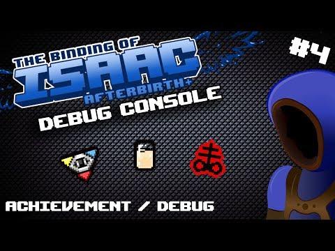 CHEATY ACHIEVEMENTS AND DEBUG! :: Binding Of Isaac: Debug Console Tutorials :: 4