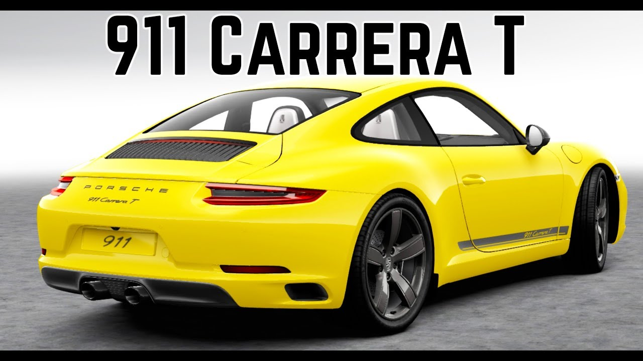 New Porsche 911 Carrera T The Perfect 911