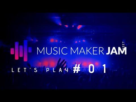 Music Maker Jam : Let's Play #01 fr | via iPhone 8 | mix House noir and digital pop