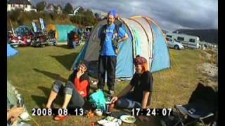 Scottish tour 2008 Ullapool campsite