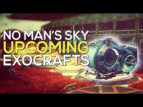 3 new EXOCRAFT in No Man's Sky, including a submarine!