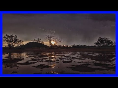 Outback northern territory hit with soaking rain, breaking dry stretch