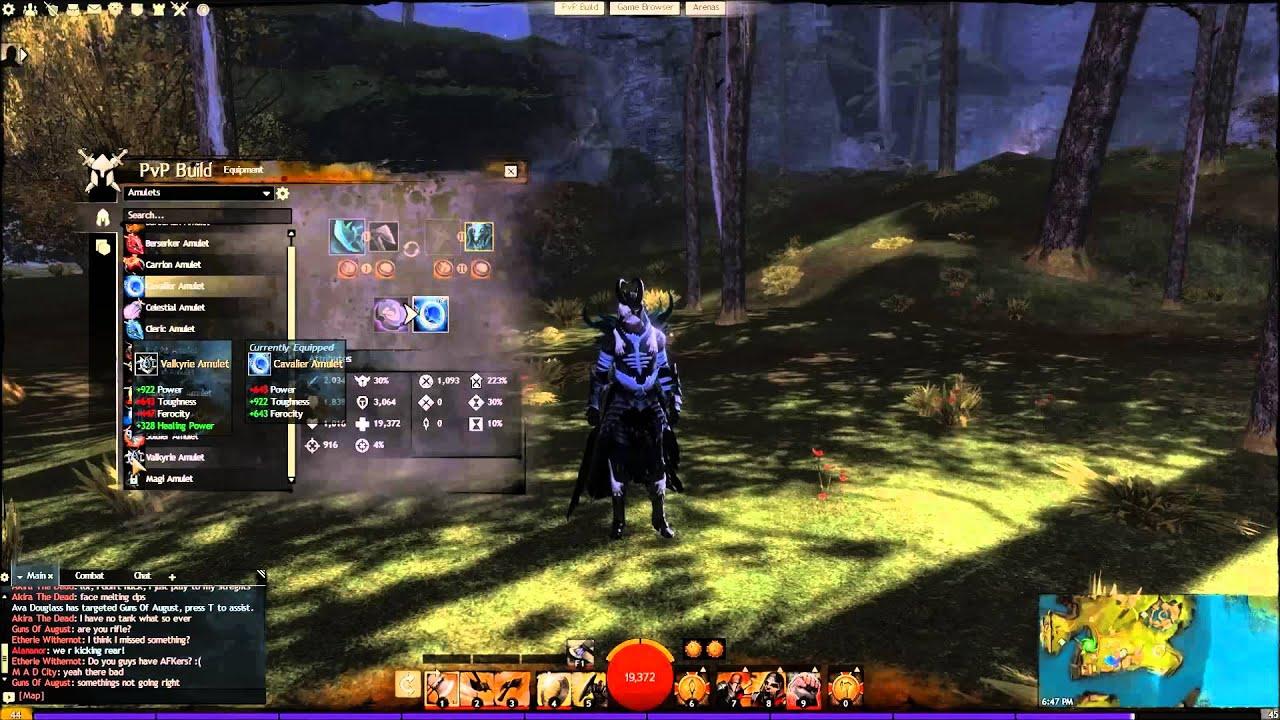 Guild Wars  Warrior Build Dps