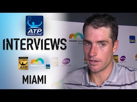 Isner After Beating Del Potro In Miami: 'I Never Blinked'