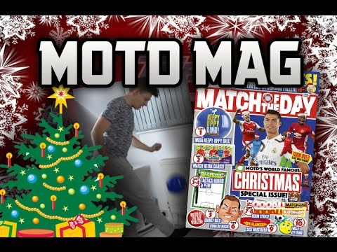 KEEPY UPPY BALL!! | MOTD MAGAZINE | ISSUE 434 XMAS SPECIAL ...