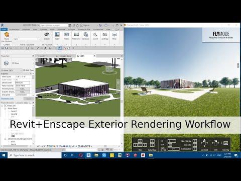 Revit+Enscape Exterior Rendering Workflow