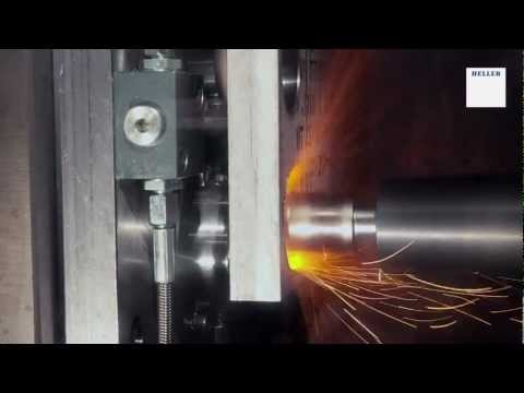 Machining of Nickel Based Alloy on HELLER 4-axis machining centre H 2000
