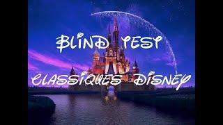 Blind Test Classiques Disney - 25 extraits - #1