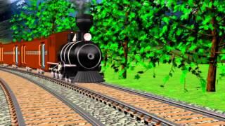Alfabet Train | Full HD