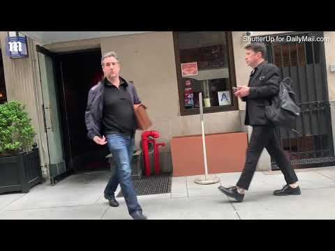Video: Michael Cohen and wife Laura Shusterman meet for lunch in NYC