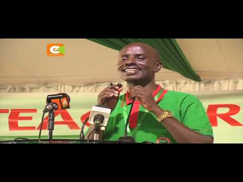 Chaos as KNUT officials demand Sossion resignation