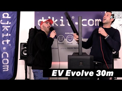 Electro-Voice Evolve 30M - 1000W Active Portable Column PA System - New @ NAMM 2020! #TheRatcave