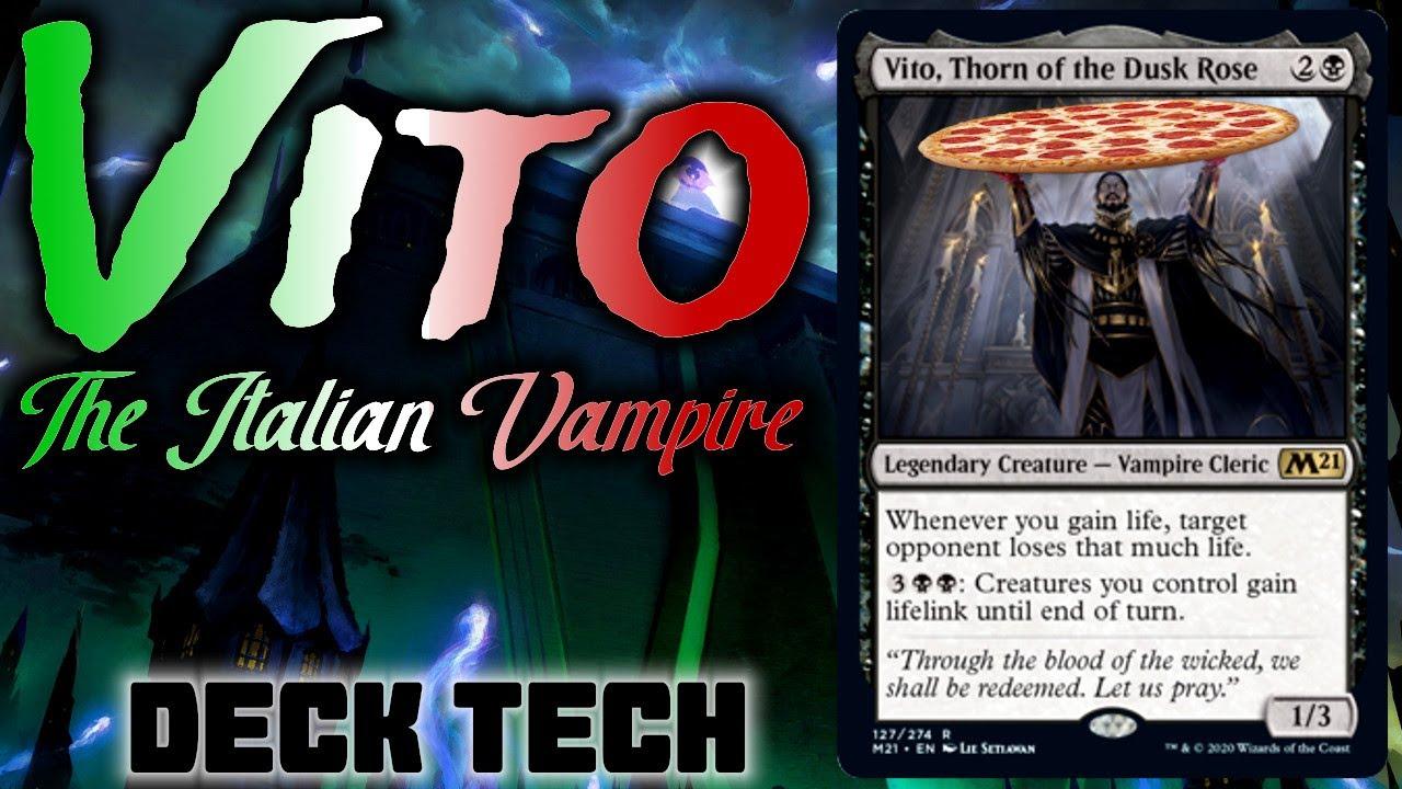 Vito Thorn of the Dusk Rose MTG Core 2021 Magic Card