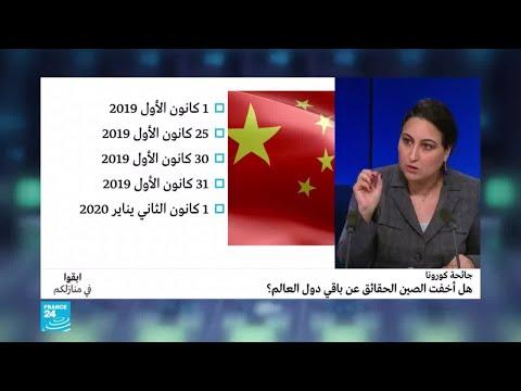 جائحة كورونا.. هل أخفت الصين الحقائق عن باقي دول العالم؟ تقرير استخباراتي أمريكي يتهم  - نشر قبل 37 دقيقة