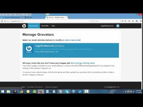 How To Create Your Own Gravatar (Profile Picture)