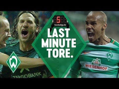 TOP 5 Last-Minute-Tore SV Werder Bremen: Torsten Frings & Zlatko Junuzovic