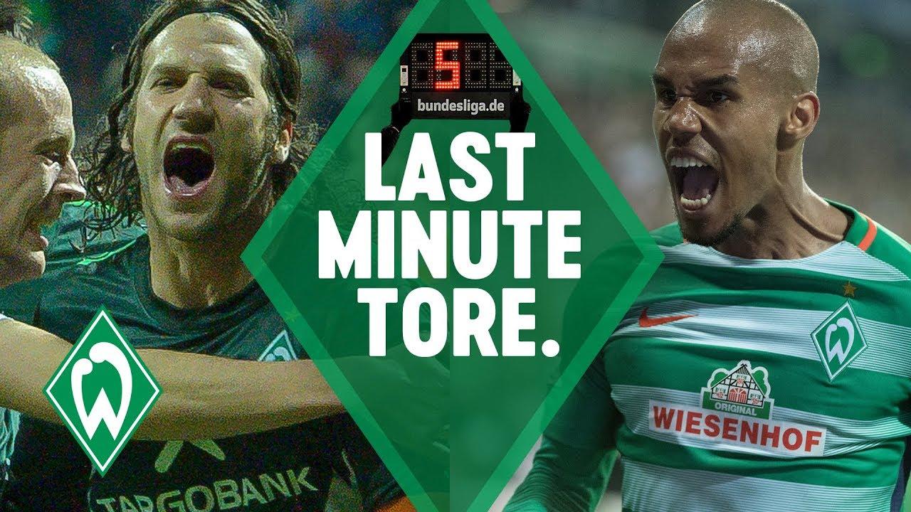 Download TOP 5 Last-Minute-Tore SV Werder Bremen: Torsten Frings & Zlatko Junuzovic