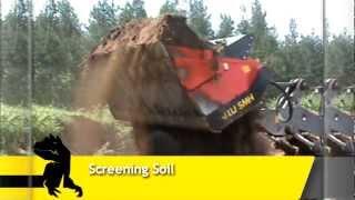 screener crusher buckets applications