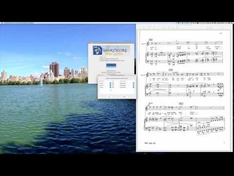 Using SmartScore Music-to-XML