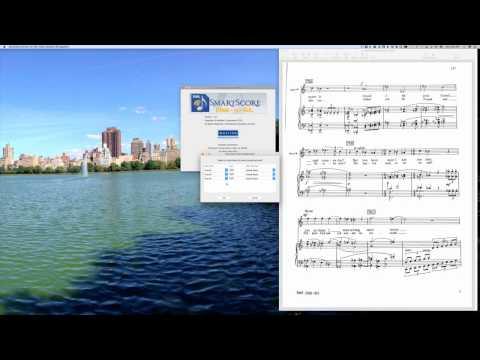 Using SmartScore Music-to-XML