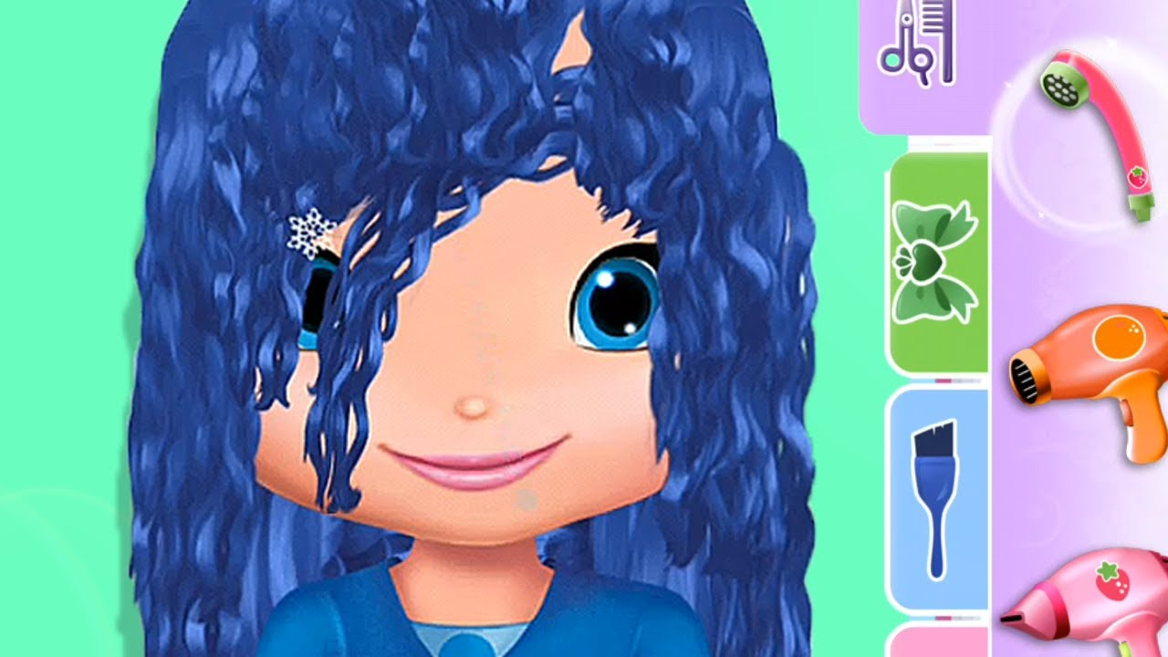 Strawberry Shortcake S Holiday Hairstyle Create The Hairstyles Of Each City Fun Game For Chidren Youtube