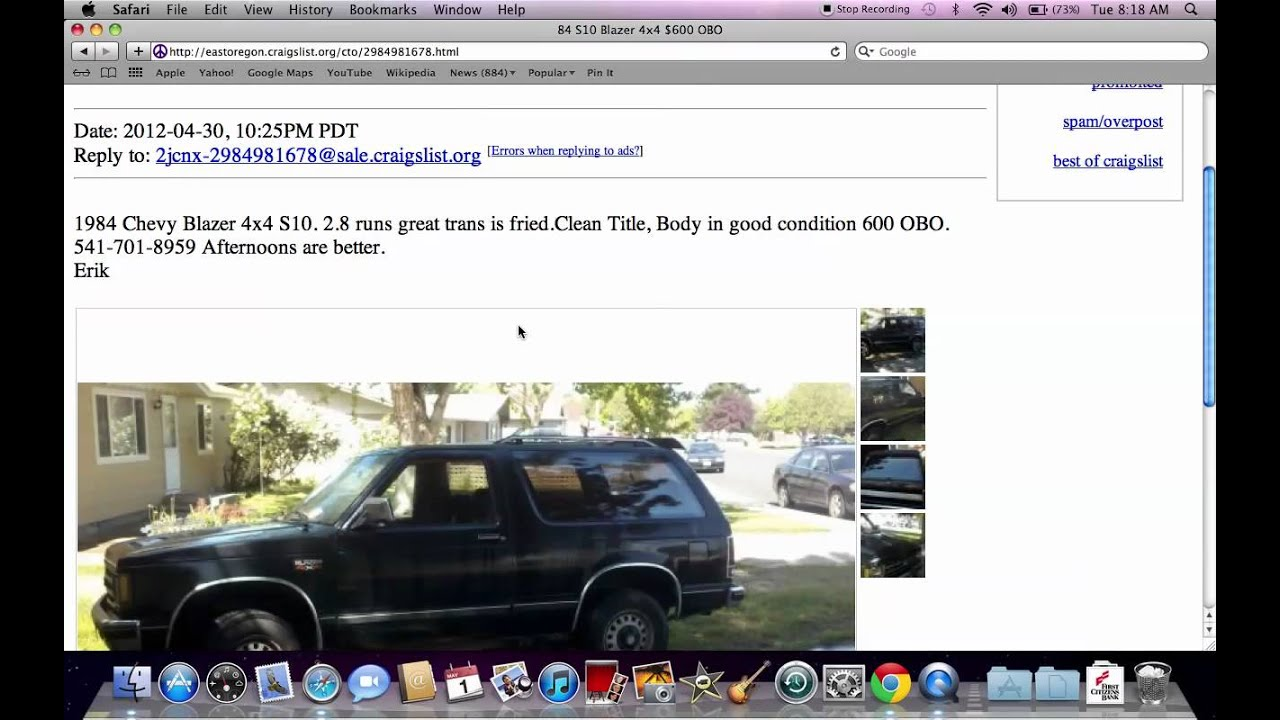 Craigslist East Oregon Used Cars And Ford Trucks Under