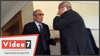"""فى """"الكسب غير المشروع""""..زكريا عزمى يغادر المحكمة عقب التأجيل"""