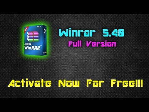 Winrar 5.40 32-64 Bit Setup+Crack    Latest Version    100% Working 2016