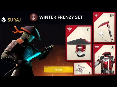 Shadow Fight 3 Official WINTER FRENZY Set - Grand Winter Frenzy Event