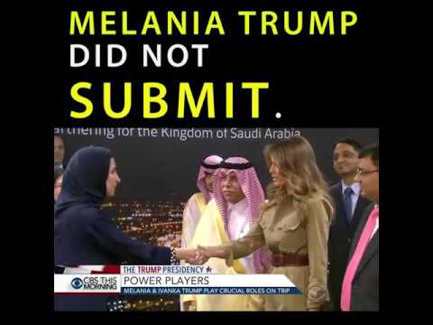Arab News: Melania Trump 'Classy and Conservative' in Saudi Arabia