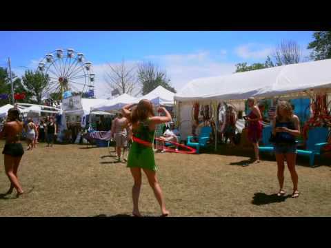 Hooping at Gathering of the Vibes Music Festival 2012