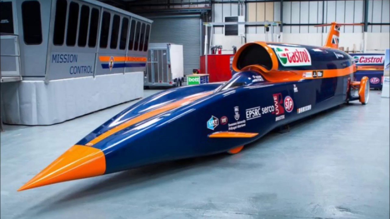 World S Fastest Car Bloodhound Ssc The 1000 Miles Per Hour