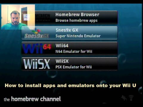 Wii U Homebrew - Install Emulators - Playstation, Super Nintendo And, N64