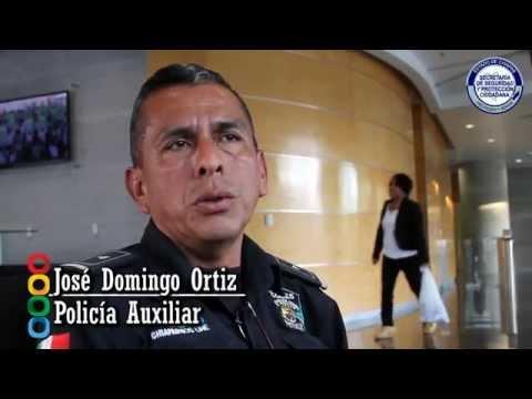 José Domingo Ortiz lleva 17 años dentro de la corporación policial...