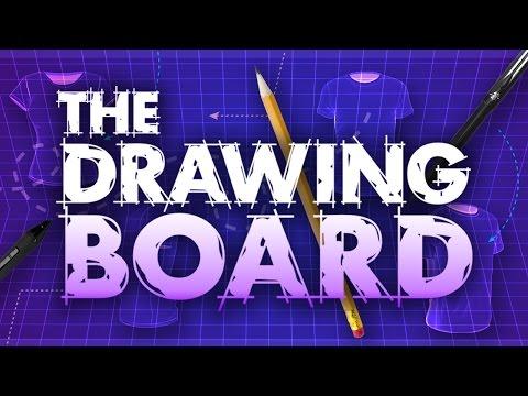 Sleek & Sexy New Drawing Board!