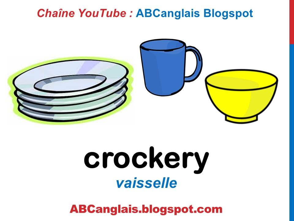Cours d'anglais 44 - Les ustensiles de cuisine en anglais Les ... on