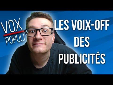 COMMENT IMITER LES VOIX-OFF DES PUB - VOX POPULI 🎙️