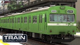 [LIVE] Train Simulator 2021 #17 JR西日本103系 和歌山線「五条行き最終電車」 キャリアモード (2)