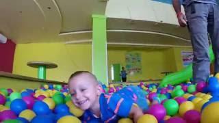 Дитяча Планета (Детская планета) Запорожье. Эльдар впервые в такой огромной игровой!!!