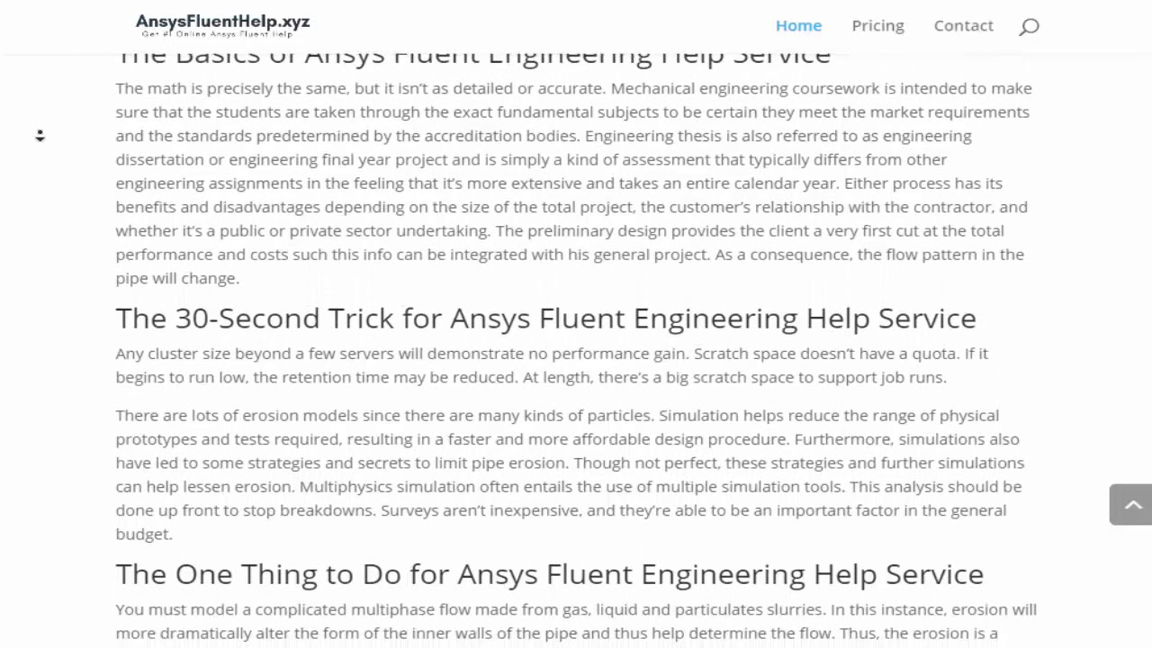 Online Ansys Fluent Help