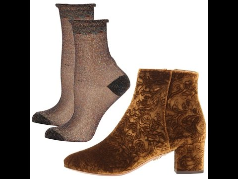 The Perfect Winter Sock-and-Boot Pairings