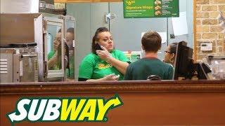 Fake Subway Employee Prank!