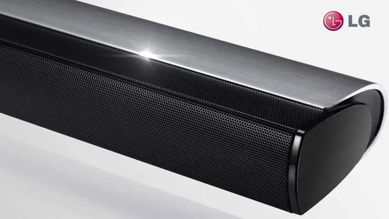 Lg Ultra Slim Soundbar Nb4530a Maximum Sound Minimal