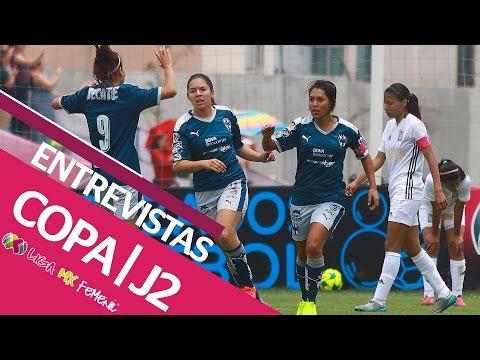 Entrevistas - Jornada 2 Copa de la Liga MX Femenil 2017