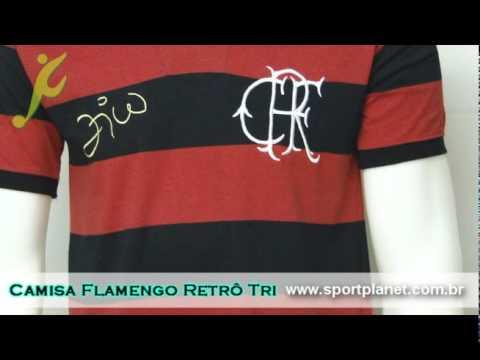 Camisa Flamengo Retrô Zico  2668047919938