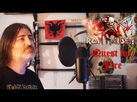 """Iron Maiden """" Quest for Fire """" ( vocal cover )"""